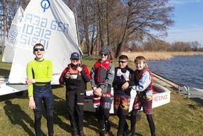 Saisonauftakt Opti- und Jugendregattagruppe